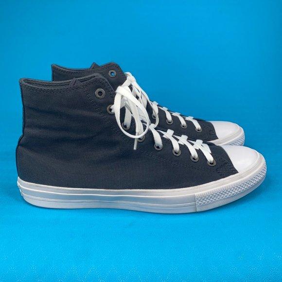 Converse Unisex Black Chuck Taylor 150143C Athletic Sneaker Shoes M12 W14